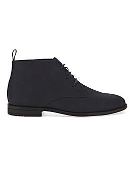 Nubuck Look Comfort Chukka Boot W Fit