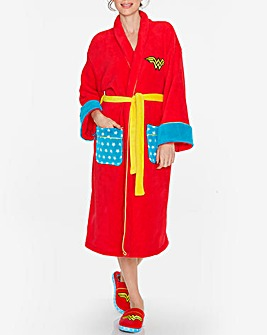 Wonder Woman DC Retro Bathrobe