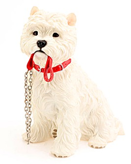 Dog Walkies Figurine