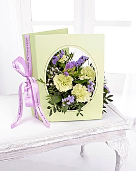Personalised Floral Greeting Card