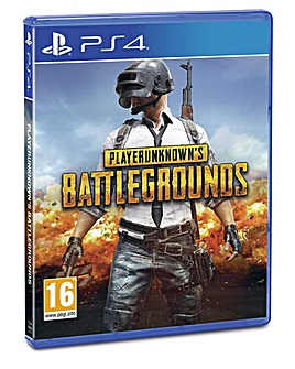 Player Unknowns Battlegrounds PS4