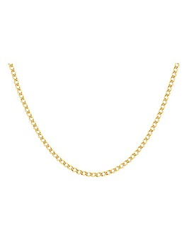9 Carat Gold 1/4oz Curb Chain