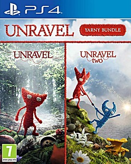 Unravel 1 and 2 Yarny Bundle PS4