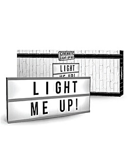 Long Message Board Light Box