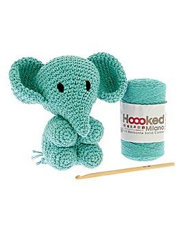 Crochet Animal Kit - Elephant