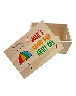Personalised Craft Box
