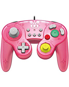 HORI Battle Pad Gamecube Style Peach Pad