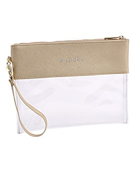 9c7ad836eb56da Willow and Rose Gold Travel Pouch