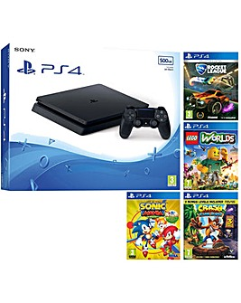 PS4 500GB Console  4 Games
