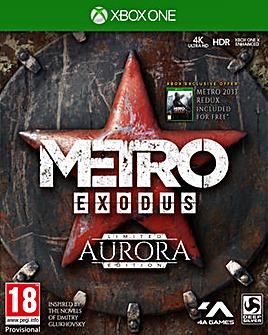 Metro Exodus Aurora Limited Edition XB1