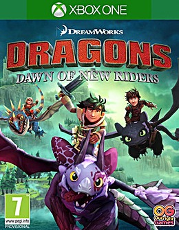 DreamWorks Dragons Dawn of New Riders XB