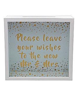 Wedding Wishes Box