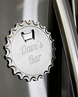 Personalised Bottle Opener Magnet