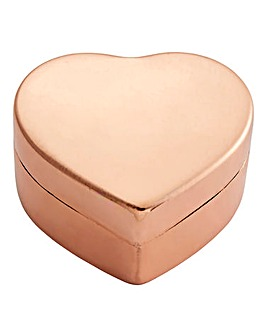 Copper Heart Trinket Box