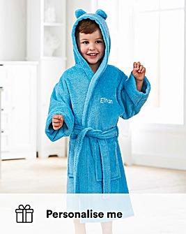 Personalised Children's Bathrobe