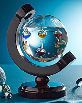 Galileo Thermometer Globe
