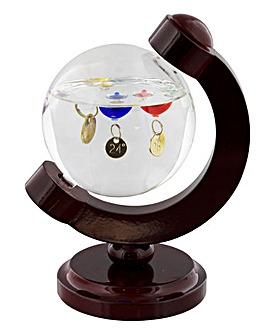 Galileo Thermometer Globe