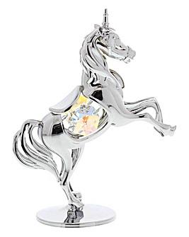 Crystocraft Unicorn Ornament