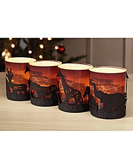 Serengeti Candle Holders and Tealights
