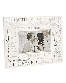 Special Occasion Script Photo Frame
