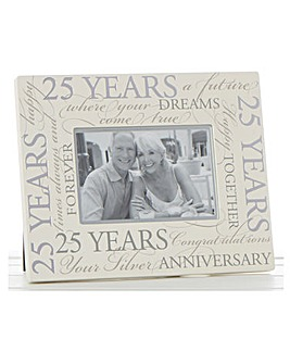 Special Anniversary Script Photo Frame