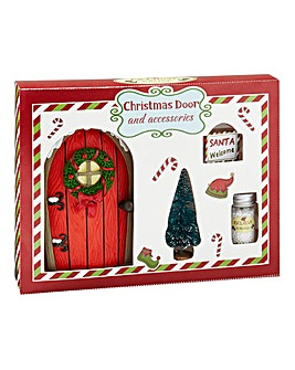 Christmas Elf Door Gift Set