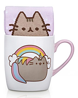 Pusheen Unicorn Mug and Socks