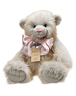 Silver Tag Lucy Bear