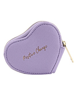 W&R Positive Change Heart Purse