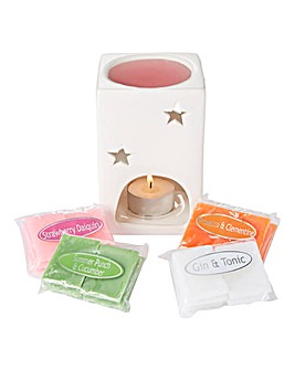Cocktail Collection Melt Warmer Gift Set