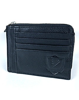 RFID leather Credit Card Holder