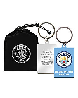 Personalised Football Keyring