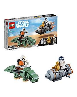 LEGO Star Wars Escape Pod vs. Dewback