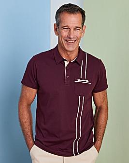 Premier Man Burgundy Polo Shirt R