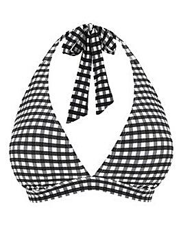 Basic Halterneck Value Bikini Top
