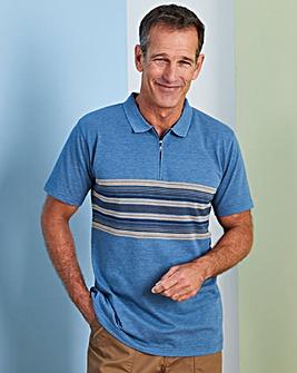Premier Man Blue Polo Shirt R
