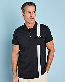 Premier Man Black Polo Shirt R
