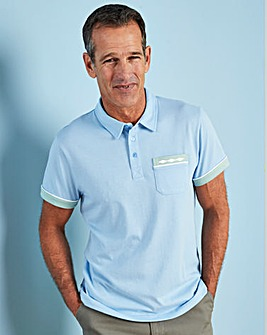 Premier Man Blue Polo Shirt R