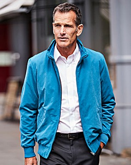 Premier Man Teal Fleece Lined Jacket Regular