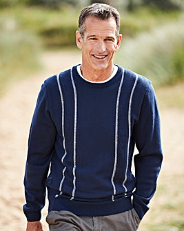 Premier Man Navy Crew Neck Jumper R