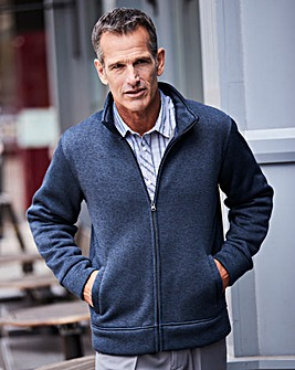 Premier Man Navy Fleece Lined Zipper R