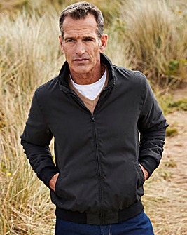 Premier Man Black Fleece Lined Jacket R