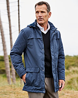 Dannimac Navy Fleece Lined Parka R