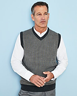 Premier Man Grey Design Slipover R