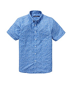 Blue Print Soft Touch Shirt Regular