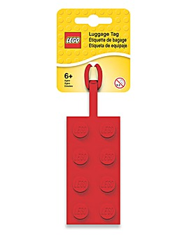 LEGO Luggage Tag 3 Pack - Red