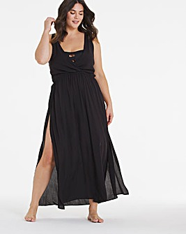 Tie Back Maxi Beach Dress