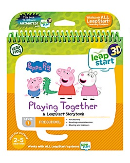 LeapFrog LeapStart Nursery: Peppa Pig Story Book (3D Enhanced)
