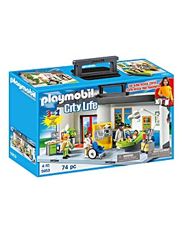 Playmobil City Life Take Along Hospital