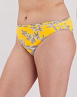 Ruche Detail Bikini Brief